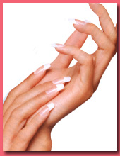 Manicured nails services in NYC-Images